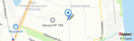 Детский материк на карте Нижнего Новгорода