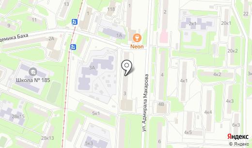 Арсенал. Схема проезда в Нижнем Новгороде