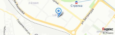 Детский сад №47 на карте Нижнего Новгорода