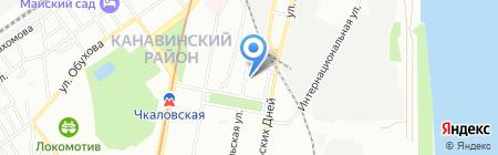 ВЕЛТЭК на карте Нижнего Новгорода