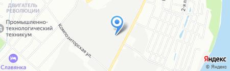 Inomarka152.ru на карте Нижнего Новгорода