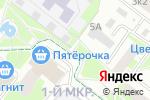 Схема проезда до компании ЭкоСервис в Нижнем Новгороде