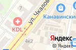 Схема проезда до компании Moda Li в Нижнем Новгороде