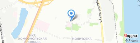 ЦСК на карте Нижнего Новгорода