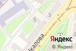 Схема проезда до компании Фантазия в Нижнем Новгороде