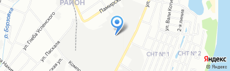 Брус-НН на карте Нижнего Новгорода