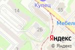Схема проезда до компании ОлеХаус в Нижнем Новгороде