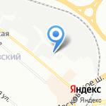 Нимфа на карте Нижнего Новгорода