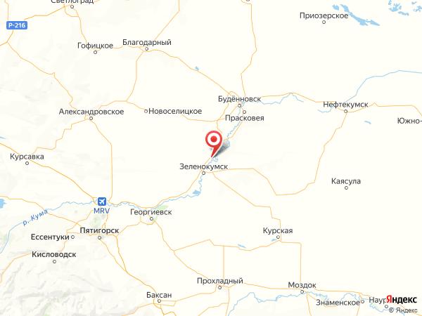 село Нины на карте