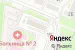 Схема проезда до компании Автопитер в Нижнем Новгороде