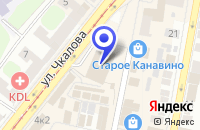 Схема проезда до компании КИНОТЕАТР КАНАВИНСКИЙ в Нижнем Новгороде