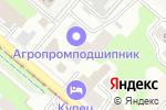 Схема проезда до компании АгроПромПодшипник в Нижнем Новгороде