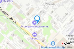 Сдается студия в Нижнем Новгороде м. Московская, Гордеевская улица, 61А