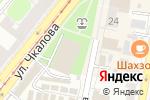 Схема проезда до компании Центр переводов в Нижнем Новгороде