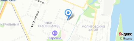 Архитектурная 6 на карте Нижнего Новгорода