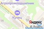 Схема проезда до компании Компания по автострахованию в Нижнем Новгороде