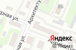 Схема проезда до компании Архитектурная в Нижнем Новгороде