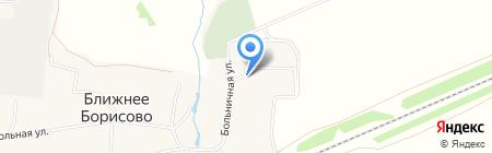 Врачебная амбулатория на карте Ближнего Борисово