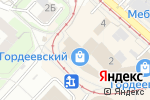 Схема проезда до компании Деньги Поволжья в Нижнем Новгороде