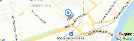 Kolibrik на карте Нижнего Новгорода
