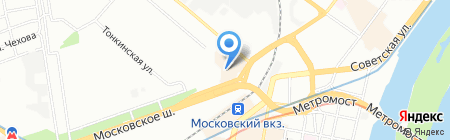 Киоск по продаже фруктов и овощей на карте Нижнего Новгорода