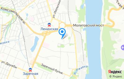 Местоположение на карте пункта техосмотра по адресу г Нижний Новгород, пер Мотальный