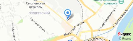 Центр детского творчества на карте Нижнего Новгорода