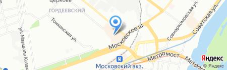 Павловская курочка на карте Нижнего Новгорода