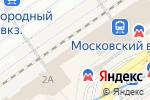 Схема проезда до компании ТрансМаркет в Нижнем Новгороде