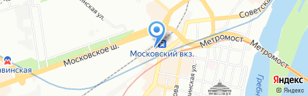 Дентал Центр на карте Нижнего Новгорода