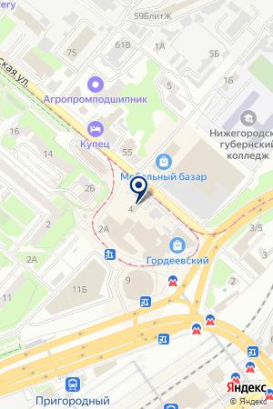 ДЕЗ КАНАВИНСКОГО РАЙОНА № 3 на карте Нижнего Новгорода