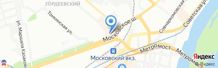 Загран-НН на карте Нижнего Новгорода