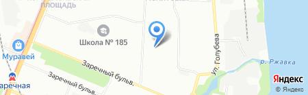 Яна на карте Нижнего Новгорода