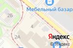 Схема проезда до компании Эко-Мир в Нижнем Новгороде