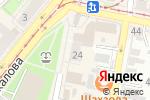 Схема проезда до компании АКБ ЮГРА в Нижнем Новгороде