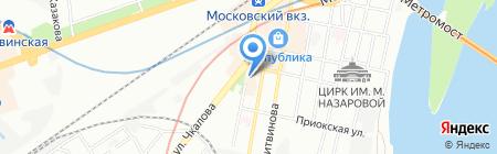 Обои-Сан на карте Нижнего Новгорода