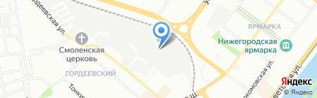 Helper на карте Нижнего Новгорода