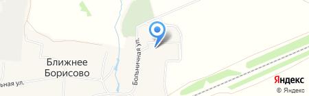 Больница на карте Ближнего Борисово