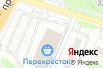 Схема проезда до компании Центр печатей и штампов в Нижнем Новгороде