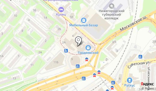 Умка. Схема проезда в Нижнем Новгороде
