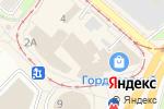 Схема проезда до компании Gloria в Нижнем Новгороде