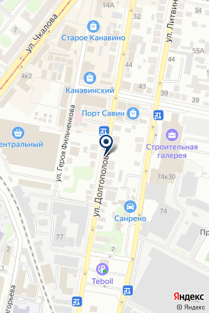 ЭЛЕГАНТ САЛОН на карте Нижнего Новгорода