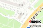 Схема проезда до компании Хатико в Нижнем Новгороде