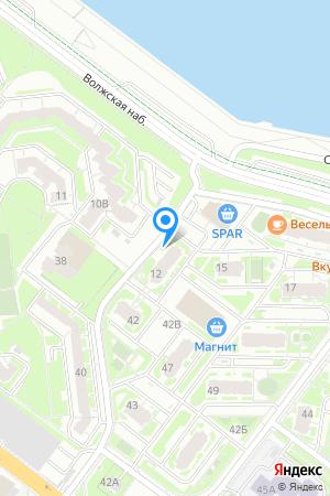 ЖК Седьмое Небо, Волжская наб., 12 на Яндекс.Картах