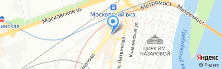Bon Ton на карте Нижнего Новгорода