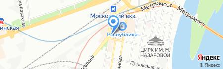 Morozko на карте Нижнего Новгорода
