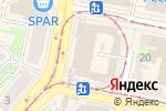 Схема проезда до компании Византия в Нижнем Новгороде