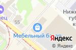 Схема проезда до компании Snow Coffee в Нижнем Новгороде