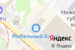Схема проезда до компании Preстол в Нижнем Новгороде