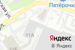 Схема проезда до компании Элина в Нижнем Новгороде